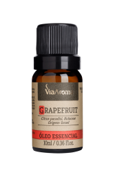 Óleo Essencial  Grapefruit - 10 Ml Via Aroma