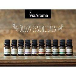 Óleo Essencial  Lemongrass - 10 Ml Via Aroma