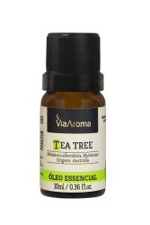Óleo Essencial  Tea Tree ( Melaleuca ) - 10 Ml Via Aroma