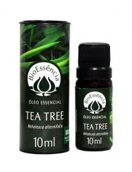 ÓLEO ESSENCIAL DE TEA TREE - 10 ML - BIOESSÊNCIA