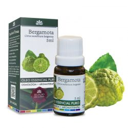Óleo Essencial Bergamota WNF - 5 ml