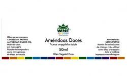 Óleo Vegetal Amêndoas Doces WNF - 50 ml